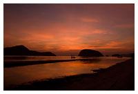 รุ่งอรุณที่ชายหาด ปราณบุรี