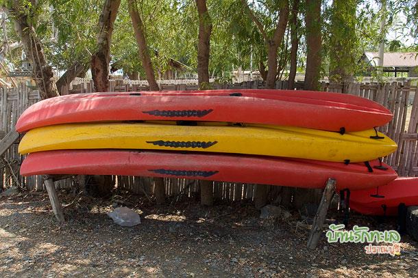 เรือคายัค พายในอุทยานแห่งชาติเขาสามร้อยยอด