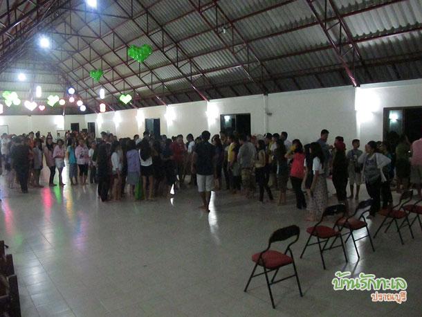 ห้องประชุม ที่พักปราณบุรี ใช้จัดกิจกรรมหมู่คณะ สันทนาการ เล่นเกม