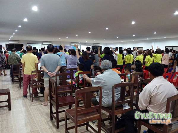 ห้องประชุมติดแอร์ ริมทะเลปราณบุรี รองรับคนได้กว่า 300 คน