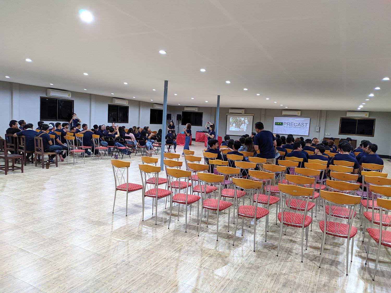 ห้องประชุมติดแอร์ ขนาดใหญ่ รองรับ 300 ท่าน