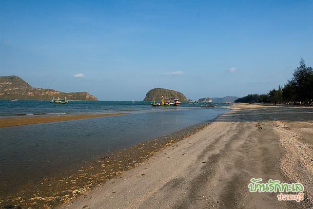 ชายหาดปราณบุรี บ้านรักทะเล