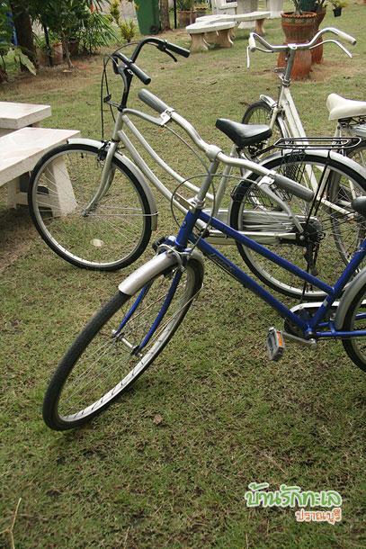 จักรยานทรงโบราณ ที่พักปราณบุรี บ้านรักทะเล