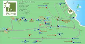 แผนที่ สถานที่ท่องเที่ยวปราณบุรี